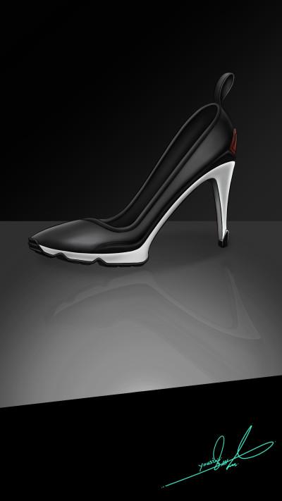 High Heels & Sporty  | Yousif_Aqeel | Digital Drawing | PENUP