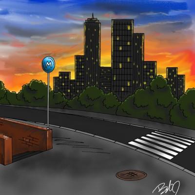 dark city   nyyankeehitman   Digital Drawing   PENUP