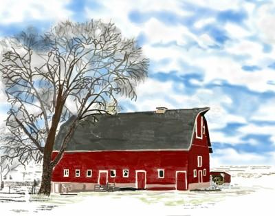 the last snow  | TLM | Digital Drawing | PENUP