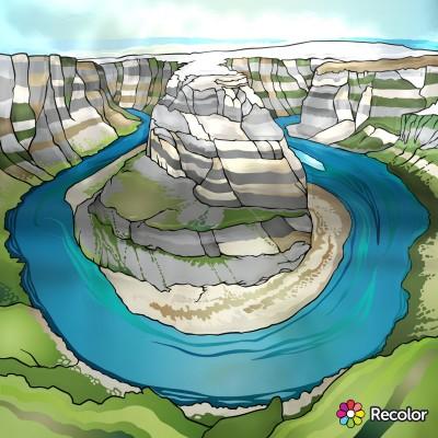 Landscape Digital Drawing | Chrissi | PENUP