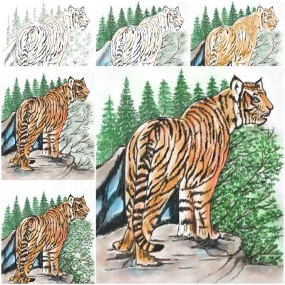 Animal Digital Drawing | jinhee | PENUP