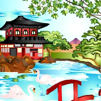 Pagoda | DeeJay | Digital Drawing | PENUP