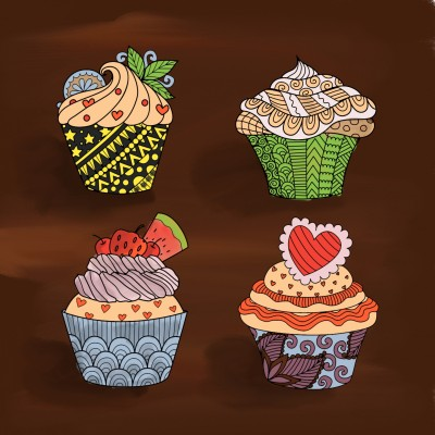 cup cake | ixmail | Digital Drawing | PENUP