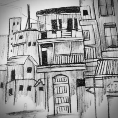city | dwitipriya | Digital Drawing | PENUP