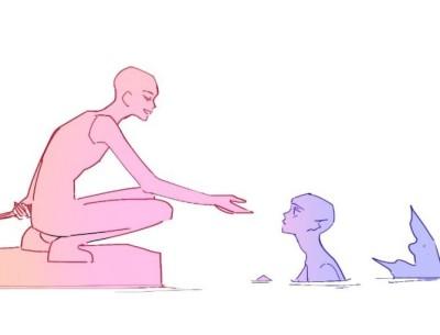뮹이는 보거라 | Baek.sat.gat | Digital Drawing | PENUP