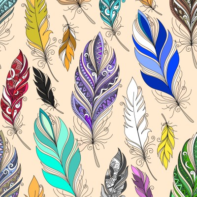 Feathers    Trish   Digital Drawing   PENUP