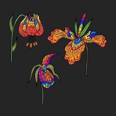 Flower power | Anevans2 | Digital Drawing | PENUP