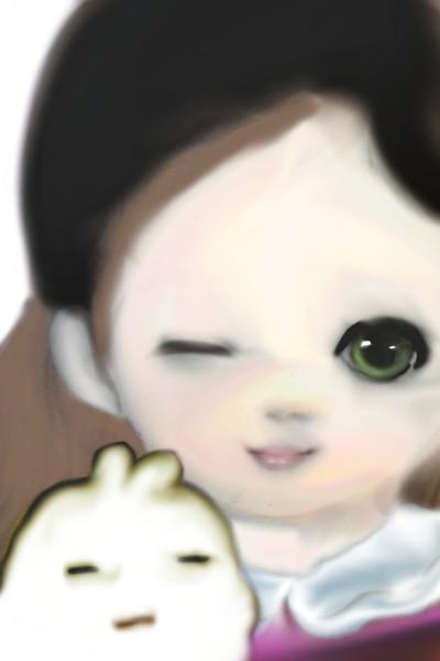 Character Digital Drawing   santa_Eve   PENUP