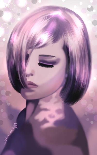 Thoughts | SummerKaz | Digital Drawing | PENUP