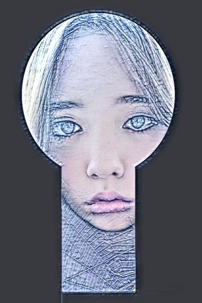The Girl Behind The Locked Door   Emily   Digital Drawing   PENUP
