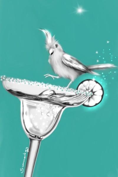 Tipsy Birds | SummerKaz | Digital Drawing | PENUP