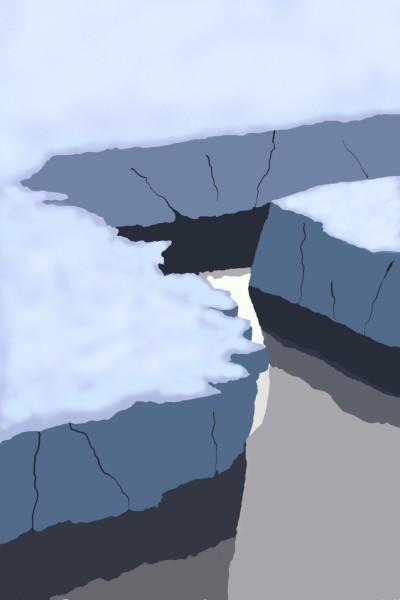 glacier | Mary | Digital Drawing | PENUP