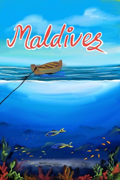 underwater maldives | beechumode | Digital Drawing | PENUP