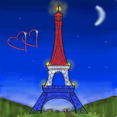 La ville de l'amour | Stace | Digital Drawing | PENUP