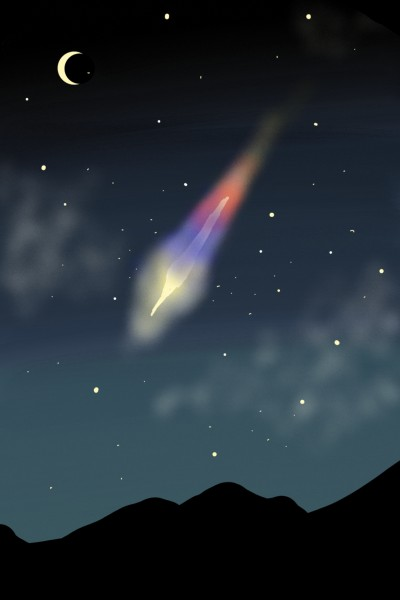 Shooting Star | yangchi | Digital Drawing | PENUP