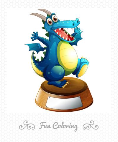 ブルー  ドラゴン | Gaycouple | Digital Drawing | PENUP