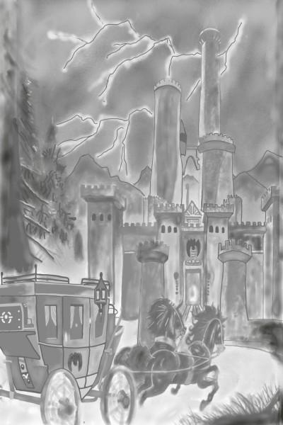 Count Dracula. Transylvania Castle | monique | Digital Drawing | PENUP