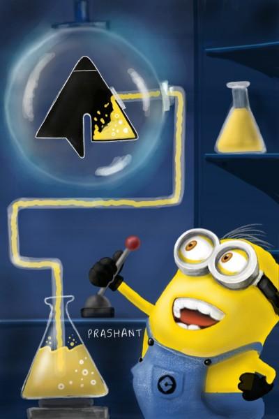 Yellow Logo! | Prashant | Digital Drawing | PENUP