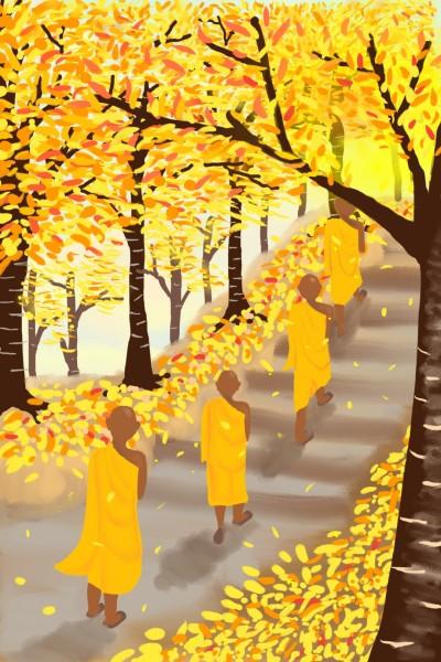 A walk to enlightment | Diana | Digital Drawing | PENUP