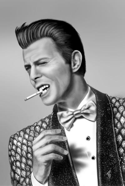 David Bowie  | TonyFarvio | Digital Drawing | PENUP