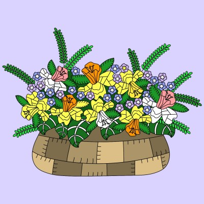 Daffodil Arrangement | Trish | Digital Drawing | PENUP