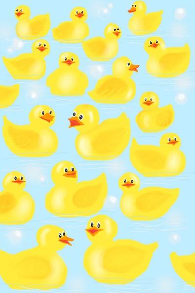 bathtub duck | Diana | Digital Drawing | PENUP