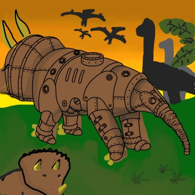 Triceratops | newjackwitty | Digital Drawing | PENUP