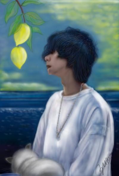 Lemon 米津玄師  /yonezu kenshi  | azu | Digital Drawing | PENUP