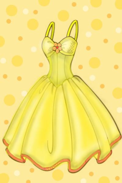Yellow dress.. | Venkatesh | Digital Drawing | PENUP