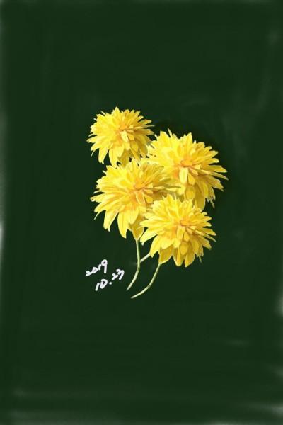 With the energy of spring   jinhaehwa   Digital Drawing   PENUP
