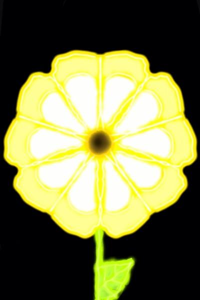 yellow flower | Zenovia | Digital Drawing | PENUP