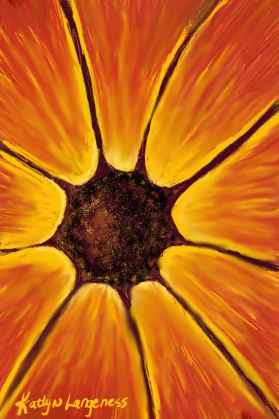 Sunburst Flower | _Katlyn_L | Digital Drawing | PENUP