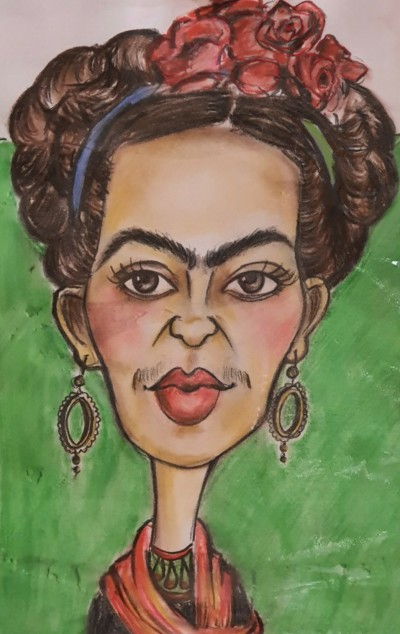 Frida Khalo | Mary | Digital Drawing | PENUP