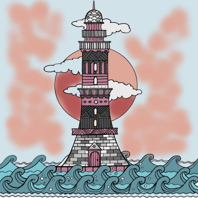 Phare | richard | Digital Drawing | PENUP