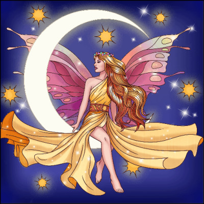 Moon  Fairy | Gaycouple | Digital Drawing | PENUP