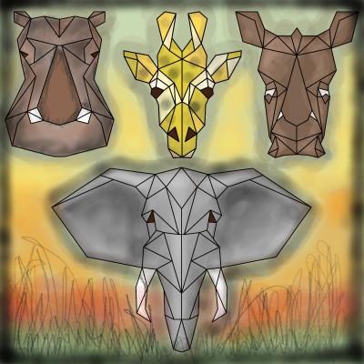 Animal of Africa   lopz   Digital Drawing   PENUP