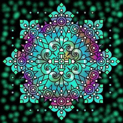 Coloring Digital Drawing | val | PENUP