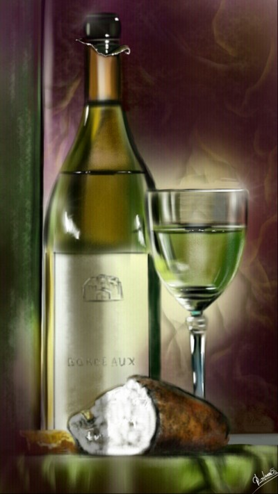 Bread and wine | Abex | Digital Drawing | PENUP