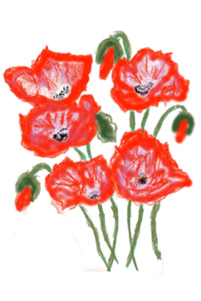 Coquelicots   richard   Digital Drawing   PENUP