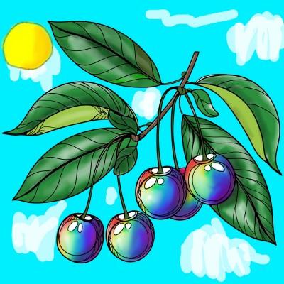 نقاشی های رنگین کمانی | HeliSama | Digital Drawing | PENUP