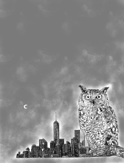 A restless city | belief | Digital Drawing | PENUP