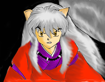 Inuyasha  | Bluzie | Digital Drawing | PENUP