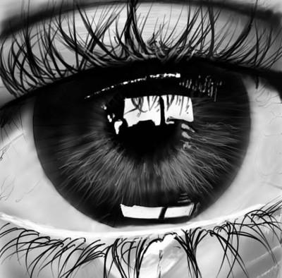 wet eye | Pejman | Digital Drawing | PENUP