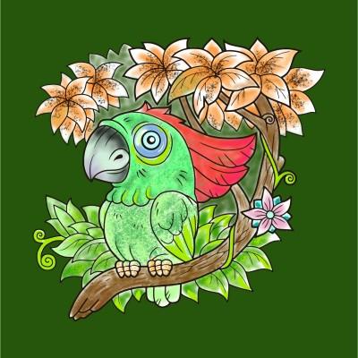 طوطی  | RezaDadkhah | Digital Drawing | PENUP