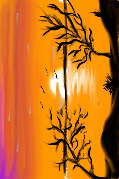 sunset  | Elias | Digital Drawing | PENUP