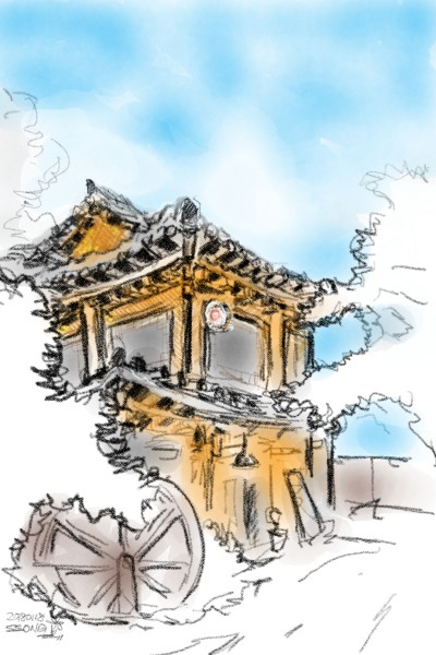 hanok | usk_keesunge | Digital Drawing | PENUP