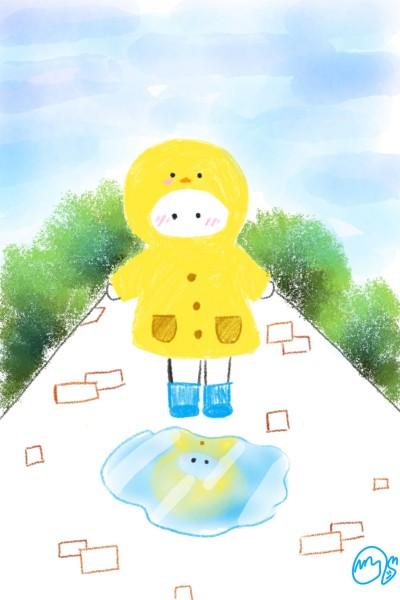 비가내린 후   Haemjji_WIZONE   Digital Drawing   PENUP