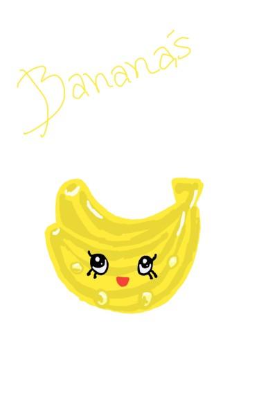 yellow bananas  | LouiseL | Digital Drawing | PENUP