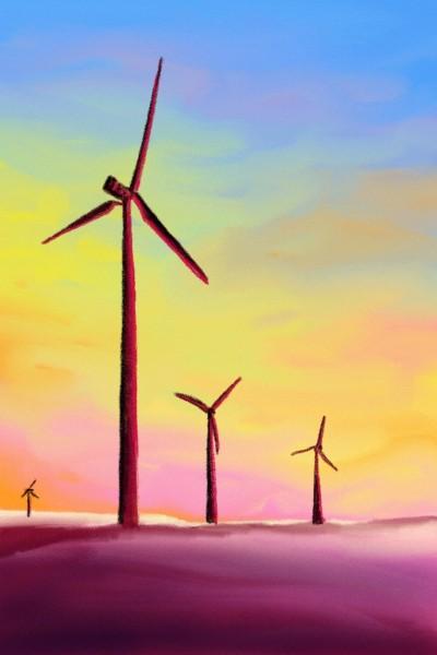 Paysage au couleur d'été  | Doodilight | Digital Drawing | PENUP