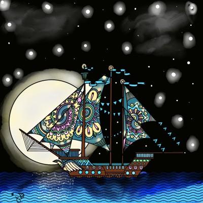 Let's go sailing! | Jules | Digital Drawing | PENUP